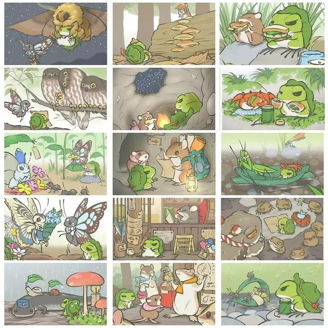 旅行青蛙史上最全攻略来啦!3分钟教你成为世上最好蛙妈蛙爸
