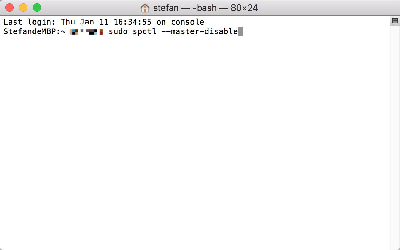 MAC系统安装软件提示软件已损坏解决办法