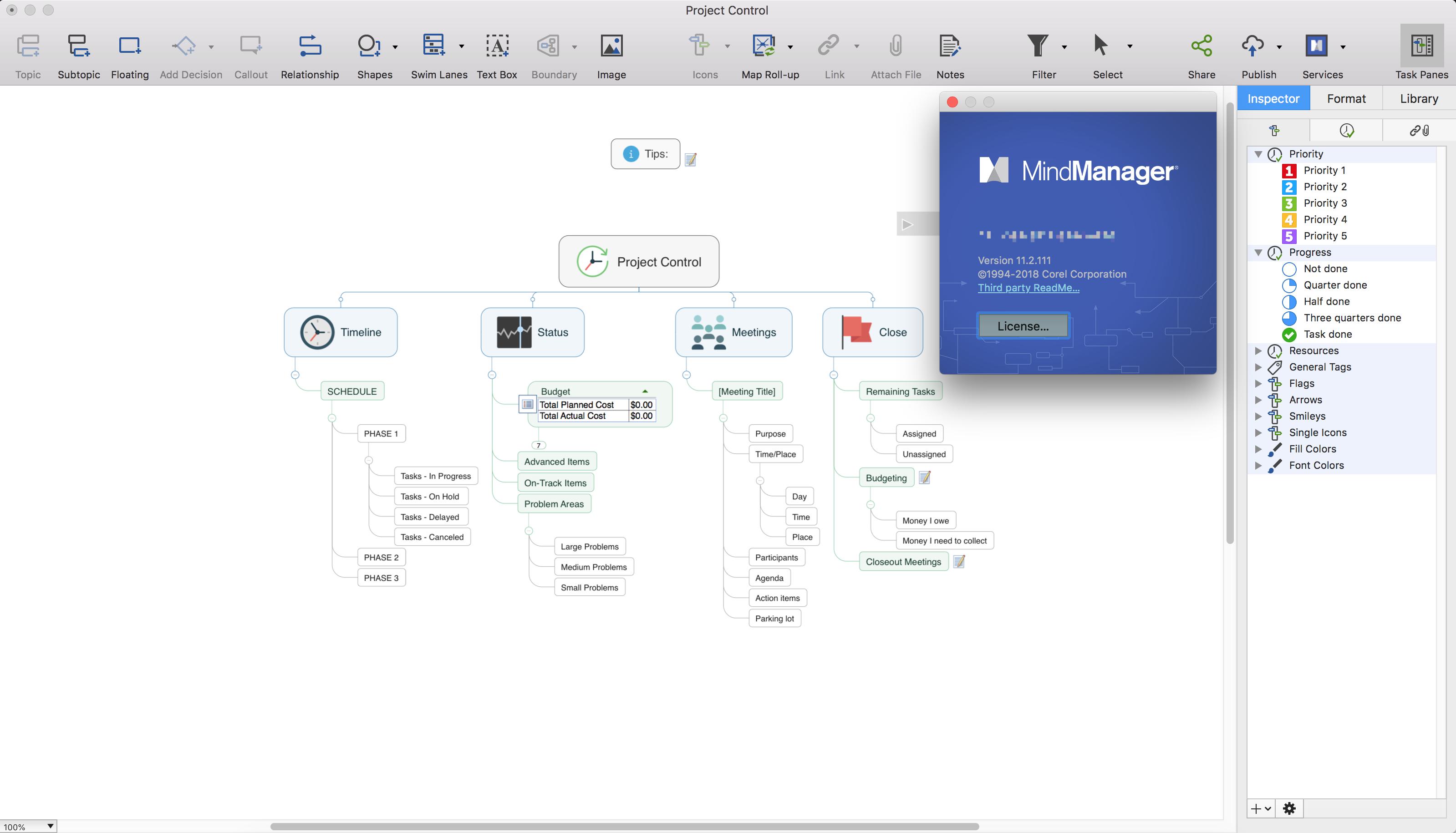 Mindjet MindManager 11.2.117 for MAC破解版